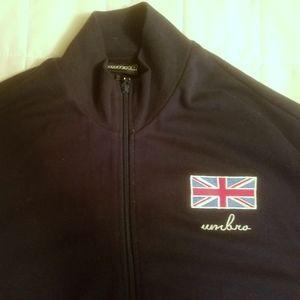 Umbro UK British Vintage Football Soccer Jacket